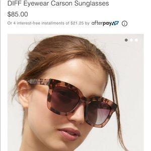 Diff Eyewear Carson Sunglasses Like New